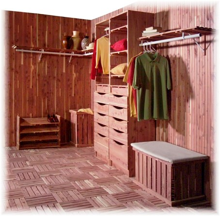 Redesigning A Cedar Paneled Closet For Stylish Storage Behr
